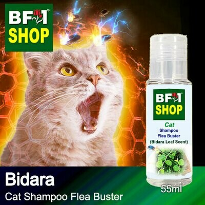 Cat Shampoo Flea Buster (CSO-Cat) - Bidara - 55ml ⭐⭐⭐⭐⭐