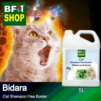 Cat Shampoo Flea Buster (CSO-Cat) - Bidara - 5L ⭐⭐⭐⭐⭐