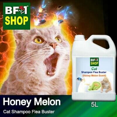 Cat Shampoo Flea Buster (CSO-Cat) - Honey Melon - 5L ⭐⭐⭐⭐⭐