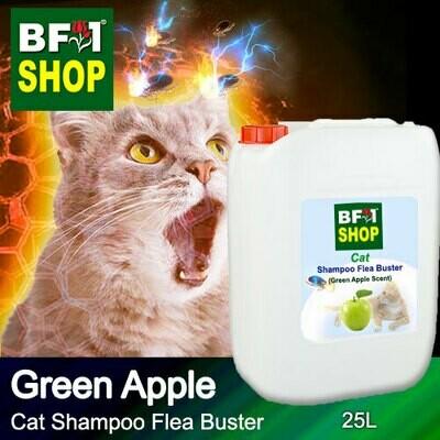Cat Shampoo Flea Buster (CSO-Cat) - Apple - Green Apple - 25L ⭐⭐⭐⭐⭐
