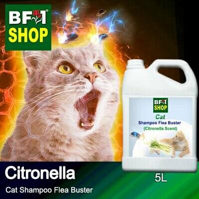 Cat Shampoo Flea Buster (CSO-Cat) - Citronella - 5L ⭐⭐⭐⭐⭐
