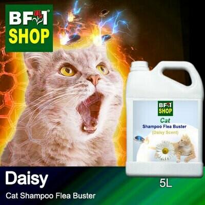 Cat Shampoo Flea Buster (CSO-Cat) - Daisy - 5L ⭐⭐⭐⭐⭐