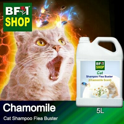 Cat Shampoo Flea Buster (CSO-Cat) - Chamomile - 5L ⭐⭐⭐⭐⭐