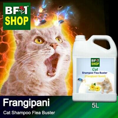 Cat Shampoo Flea Buster (CSO-Cat) - Frangipani - 5L ⭐⭐⭐⭐⭐