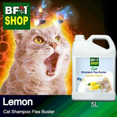 Cat Shampoo Flea Buster (CSO-Cat) - Lemon - 5L ⭐⭐⭐⭐⭐