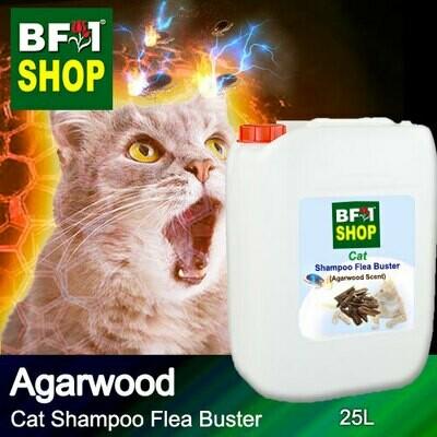 Cat Shampoo Flea Buster (CSO-Cat) - Agarwood - 25L ⭐⭐⭐⭐⭐