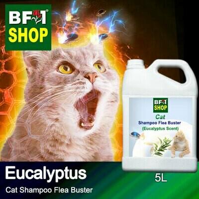Cat Shampoo Flea Buster (CSO-Cat) - Eucalyptus - 5L ⭐⭐⭐⭐⭐