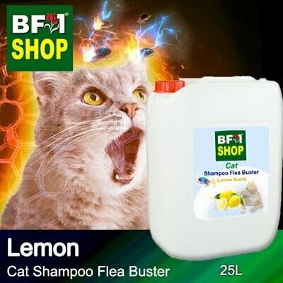 Cat Shampoo Flea Buster (CSO-Cat) - Lemon - 25L ⭐⭐⭐⭐⭐