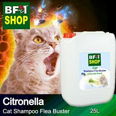 Cat Shampoo Flea Buster (CSO-Cat) - Citronella - 25L ⭐⭐⭐⭐⭐