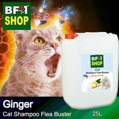 Cat Shampoo Flea Buster (CSO-Cat) - Ginger - 25L ⭐⭐⭐⭐⭐