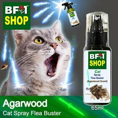 Cat Spray Flea Buster (CSY-Cat) - Agarwood - 65ml ⭐⭐⭐⭐⭐