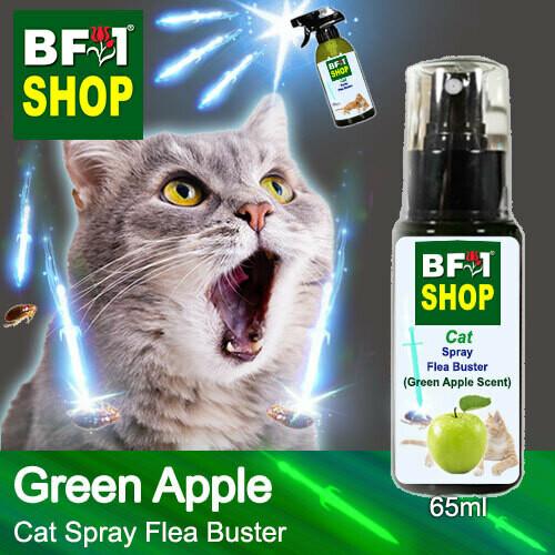 Cat Spray Flea Buster (CSY-Cat) - Apple - Green Apple - 65ml ⭐⭐⭐⭐⭐