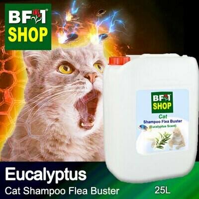 Cat Shampoo Flea Buster (CSO-Cat) - Eucalyptus - 25L