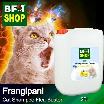 Cat Shampoo Flea Buster (CSO-Cat) - Frangipani - 25L ⭐⭐⭐⭐⭐