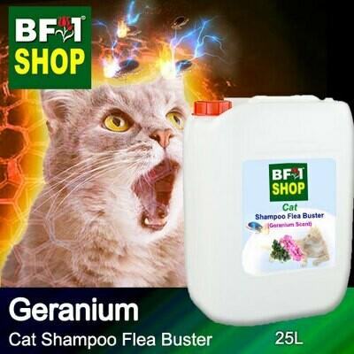 Cat Shampoo Flea Buster (CSO-Cat) - Geranium - 25L ⭐⭐⭐⭐⭐