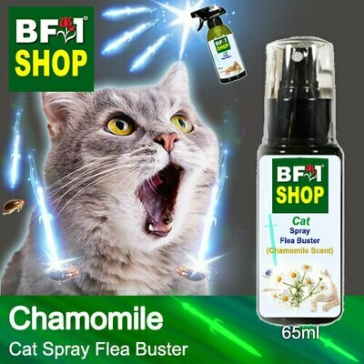 Cat Spray Flea Buster (CSY-Cat) - Chamomile - 65ml ⭐⭐⭐⭐⭐