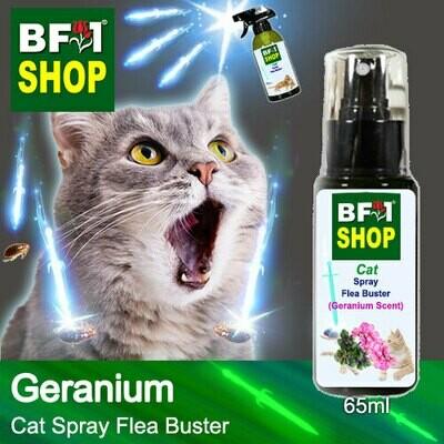 Cat Spray Flea Buster (CSY-Cat) - Geranium - 65ml ⭐⭐⭐⭐⭐