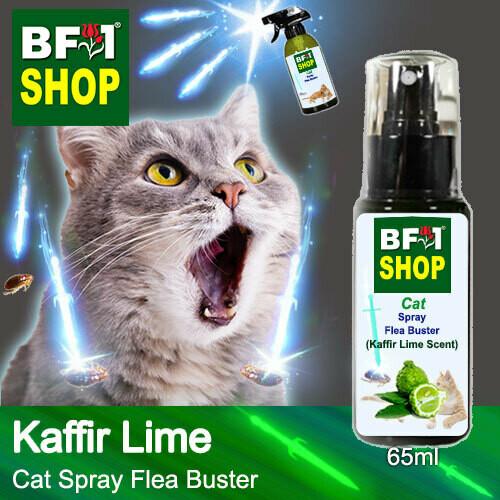 Cat Spray Flea Buster (CSY-Cat) - lime - Kaffir Lime - 65ml ⭐⭐⭐⭐⭐