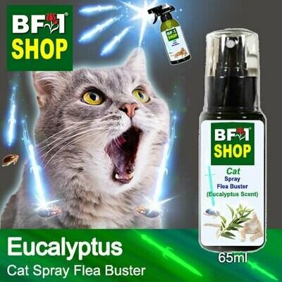 Cat Spray Flea Buster (CSY-Cat) - Eucalyptus - 65ml ⭐⭐⭐⭐⭐