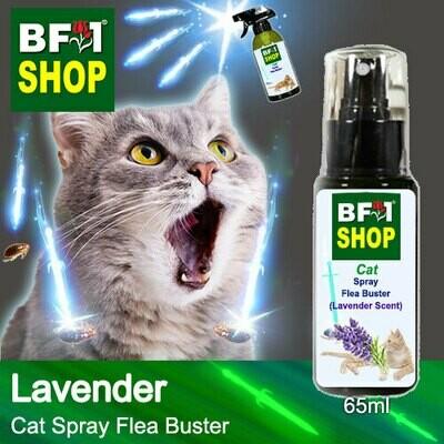 Cat Spray Flea Buster (CSY-Cat) - Lavender - 65ml ⭐⭐⭐⭐⭐