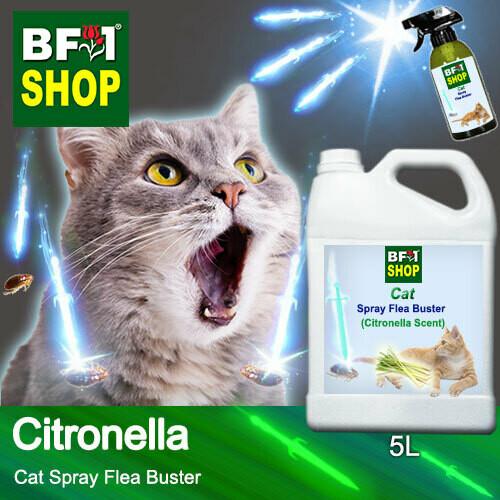Cat Spray Flea Buster (CSY-Cat) - Citronella - 5L ⭐⭐⭐⭐⭐