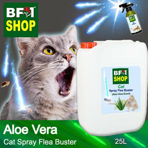 Cat Spray Flea Buster (CSY-Cat) - Aloe Vera - 25L ⭐⭐⭐⭐⭐