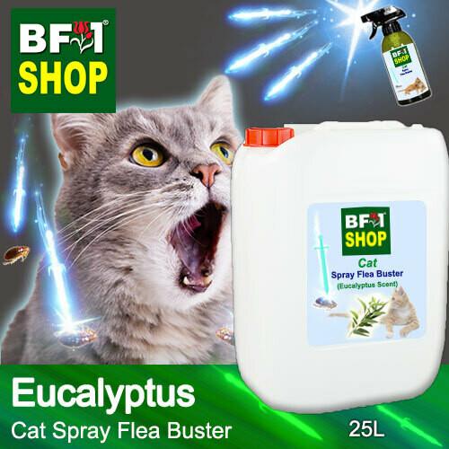 Cat Spray Flea Buster (CSY-Cat) - Eucalyptus - 25L ⭐⭐⭐⭐⭐