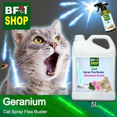 Cat Spray Flea Buster (CSY-Cat) - Geranium - 5L ⭐⭐⭐⭐⭐