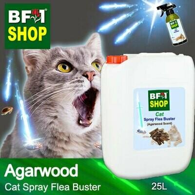 Cat Spray Flea Buster (CSY-Cat) - Agarwood - 25L ⭐⭐⭐⭐⭐