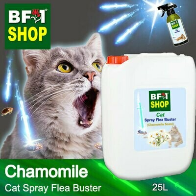 Cat Spray Flea Buster (CSY-Cat) - Chamomile - 25L ⭐⭐⭐⭐⭐