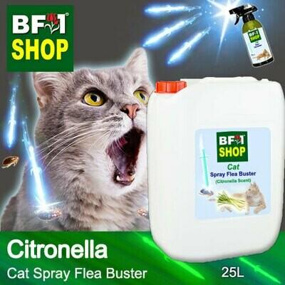 Cat Spray Flea Buster (CSY-Cat) - Citronella - 25L ⭐⭐⭐⭐⭐