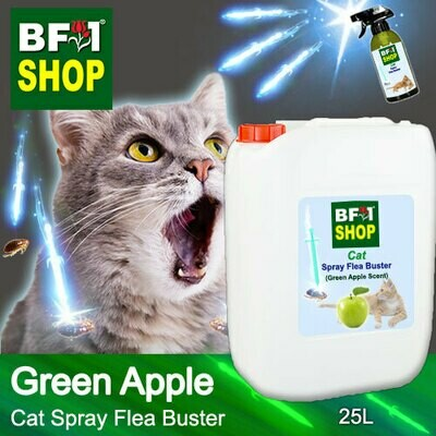 Cat Spray Flea Buster (CSY-Cat) - Apple - Green Apple - 25L ⭐⭐⭐⭐⭐