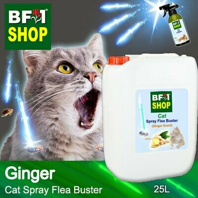 Cat Spray Flea Buster (CSY-Cat) - Ginger - 25L ⭐⭐⭐⭐⭐