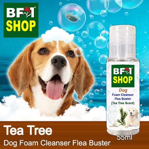 Dog Foam Cleanser Flea Buster (DFC-Dog) - Tea Tree - 55ml ⭐⭐⭐⭐⭐