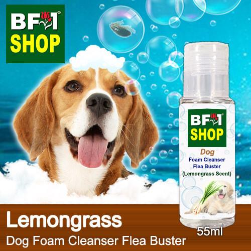 Dog Foam Cleanser Flea Buster (DFC-Dog) - Lemongrass - 55ml ⭐⭐⭐⭐⭐