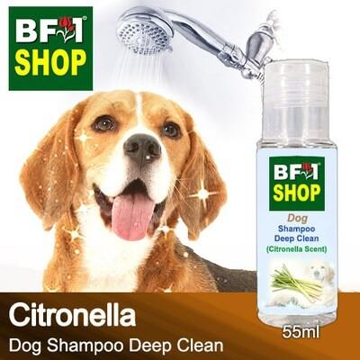 Dog Shampoo Deep Clean (DSDC-Dog) - Citronella - 55ml ⭐⭐⭐⭐⭐
