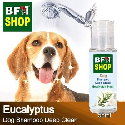 Dog Shampoo Deep Clean (DSDC-Dog) - Eucalyptus - 55ml ⭐⭐⭐⭐⭐