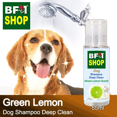 Dog Shampoo Deep Clean (DSDC-Dog) - Lemon - Green Lemon - 55ml ⭐⭐⭐⭐⭐