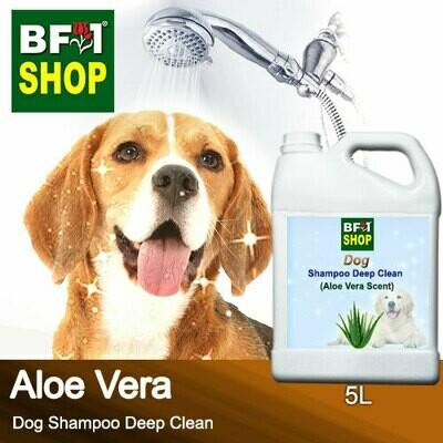 Dog Shampoo Deep Clean (DSDC-Dog) - Aloe Vera - 5L ⭐⭐⭐⭐⭐