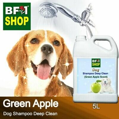 Dog Shampoo Deep Clean (DSDC-Dog) - Apple - Green Apple - 5L ⭐⭐⭐⭐⭐