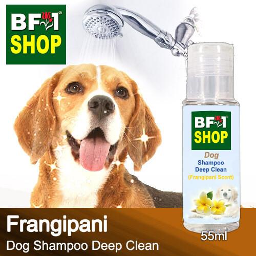 Dog Shampoo Deep Clean (DSDC-Dog) - Frangipani - 55ml ⭐⭐⭐⭐⭐