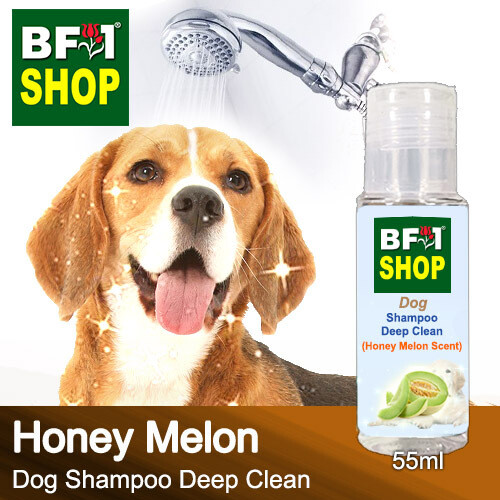 Dog Shampoo Deep Clean (DSDC-Dog) - Honey Melon - 55ml ⭐⭐⭐⭐⭐