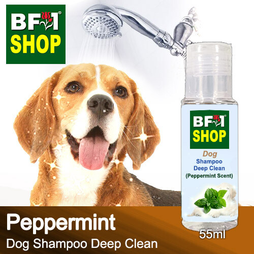 Dog Shampoo Deep Clean (DSDC-Dog) - mint - Peppermint - 55ml ⭐⭐⭐⭐⭐