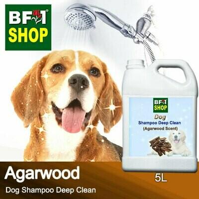 Dog Shampoo Deep Clean (DSDC-Dog) - Agarwood - 5L ⭐⭐⭐⭐⭐