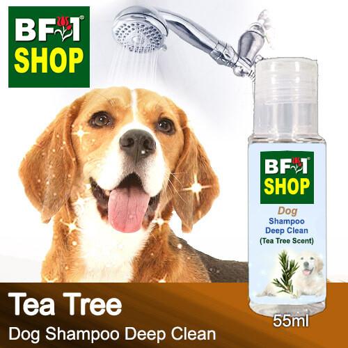 Dog Shampoo Deep Clean (DSDC-Dog) - Tea Tree - 55ml ⭐⭐⭐⭐⭐