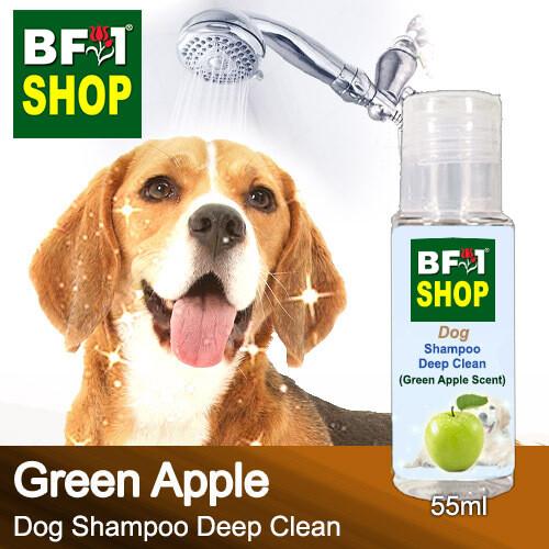 Dog Shampoo Deep Clean (DSDC-Dog) - Apple - Green Apple - 55ml ⭐⭐⭐⭐⭐