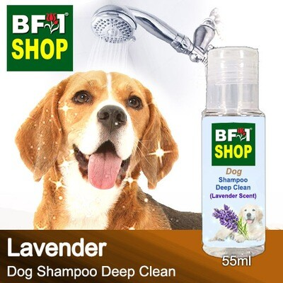 Dog Shampoo Deep Clean (DSDC-Dog) - Lavender - 55ml ⭐⭐⭐⭐⭐