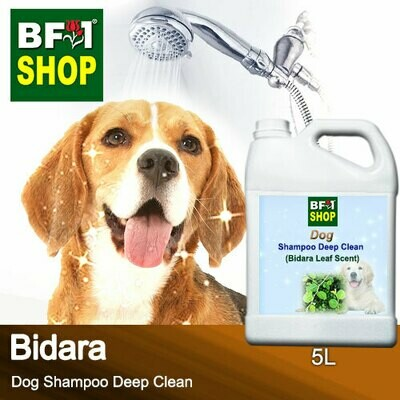 Dog Shampoo Deep Clean (DSDC-Dog) - Bidara - 5L ⭐⭐⭐⭐⭐