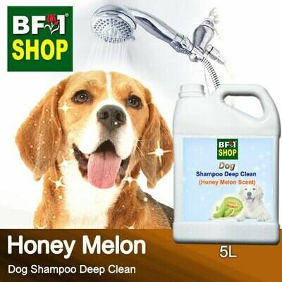 Dog Shampoo Deep Clean (DSDC-Dog) - Honey Melon - 5L ⭐⭐⭐⭐⭐