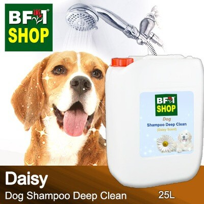 Dog Shampoo Deep Clean (DSDC-Dog) - Daisy - 25L ⭐⭐⭐⭐⭐
